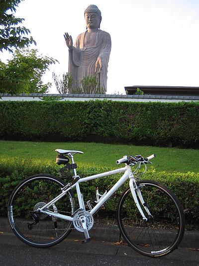 牛久大仏サイクリング