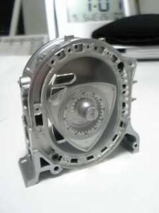 1/5ロータリーエンジン模型