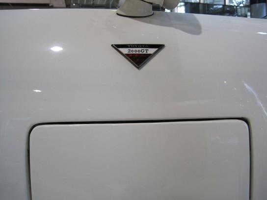 トヨタ2000GTのエムブレム