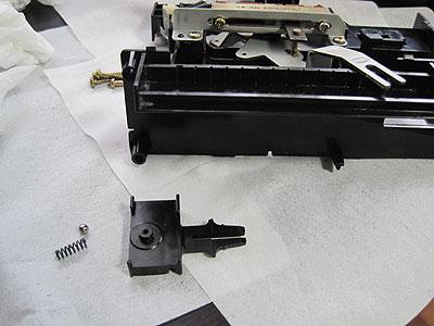 MR2AW11純正オートエアコン分解作業
