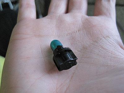 MR2AW11純正オートエアコンの照明用バルブ
