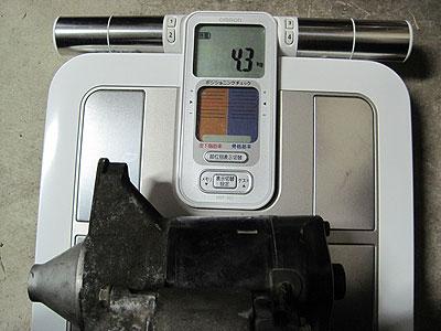MR2AW11トヨタ純正セルモーターの重量