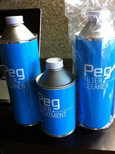 Pegエアクリーナー洗浄剤(RAMAIR用)