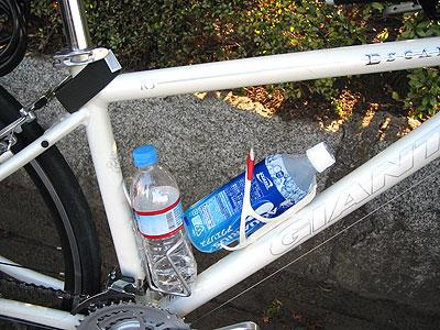 エスケープR3に2つのボトルケージ