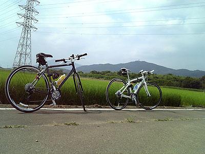筑波山周辺のサイクリング