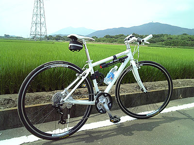 サイクリング中のエスケープR3