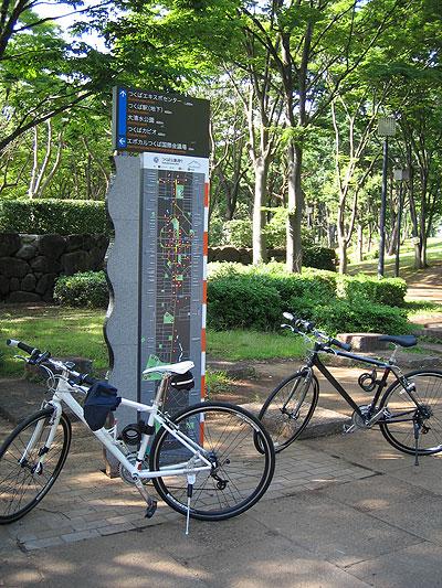 つくば公園通りサイクリング