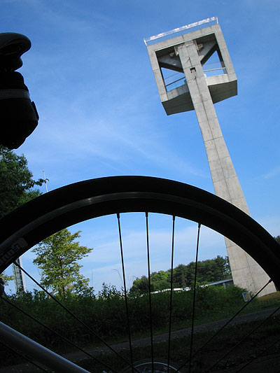 つくば松見公園サイクリング(栓抜き塔)