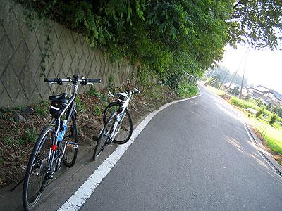 エスケープR3でサイクリング中
