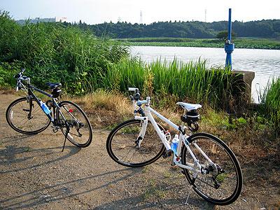牛久沼付近のサイクリング