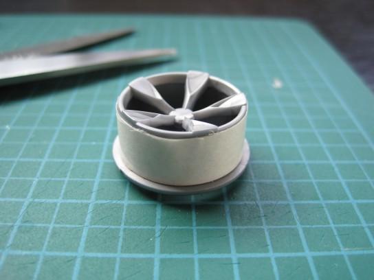 エアロアバンテのタイヤ製作
