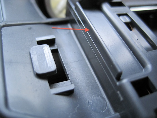 タイプ2シャーシにエアロアバンテボディを載せる 問題箇所
