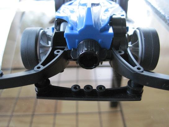 ARシャーシ付属の低摩擦素材ノーマルボディキャッチ