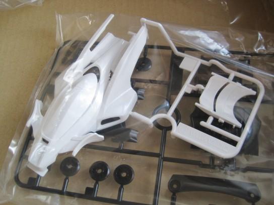 ミニ四駆 エアロサンダーショットのボディ