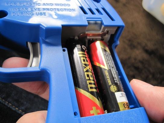 タミヤ 電動ハンディドリル 電池ボックス