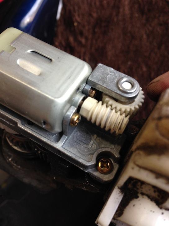 MR2 AW11 電動格納ドアミラー モーター